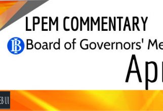 LPEM COMMENTARY BI BOARD OF GOVERNORS' MEETING APRIL 2016