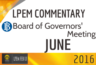 LPEM COMMENTARY BI BOARD OF GOVERNORS' MEETING JUNE 2016