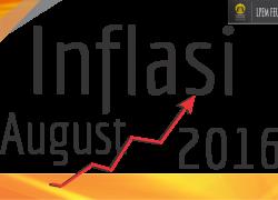 ANALISIS INFLASI BULAN AGUSTUS 2016