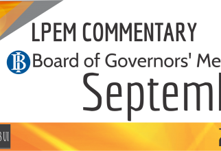 LPEM COMMENTARY BI BOARD OF GOVERNORS' MEETING SEPTEMBER 2016