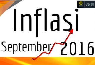 ANALISIS INFLASI BULAN SEPTEMBER 2016