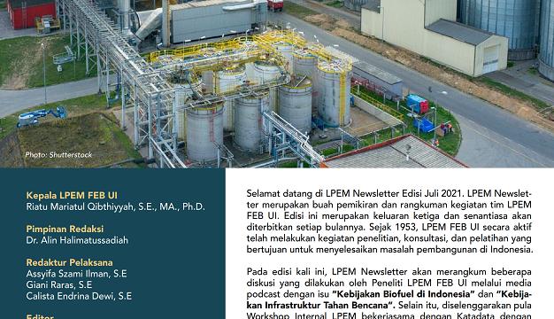 Bicara Kebijakan Biofuel di Indonesia