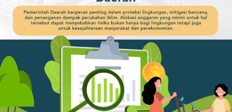 Optimalisasi Pendanaan Lingkungan dan Perubahan Iklim di Tingkat Daerah