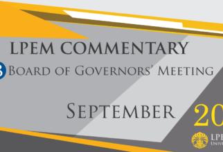 SERI ANALISIS MAKROEKONOMI: BI Board of Governor Meeting, September 2021